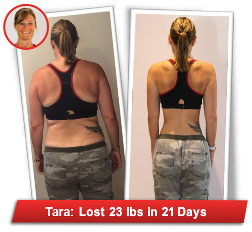 tara back - Flat Belly Fix